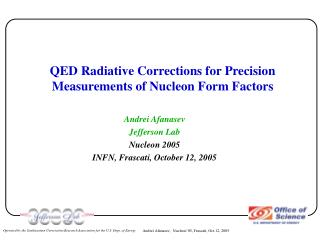 QED Radiative Corrections for Precision Measurements of Nucleon Form Factors