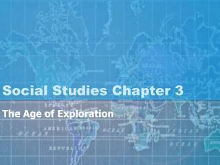Social Studies Chapter 3