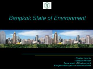 Bangkok State of Environment