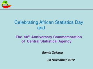 Celebrating African Statistics Day  and