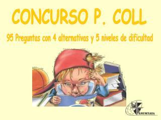 CONCURSO P. COLL