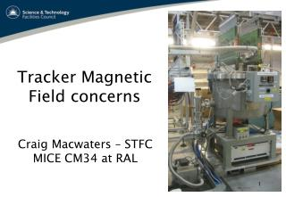 Tracker Magnetic Field concerns