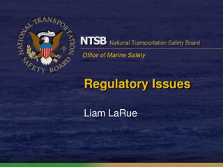 Regulatory Issues