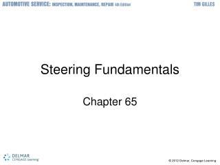 Steering Fundamentals