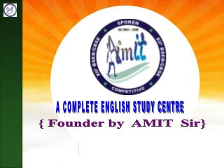 A COMPLETE ENGLISH STUDY CENTRE
