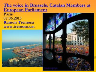 """26.11.2012, Congratulations in Brussel.les:  """"Won the right to be consulted"""""""
