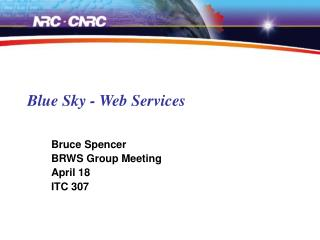 Blue Sky - Web Services