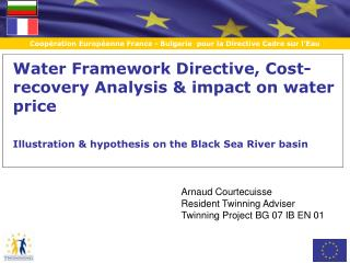 Water Framework Directive, Cost-recovery Analysis & impact on water price
