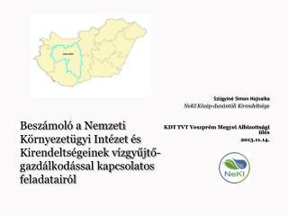 Szügyiné Simon Hajnalka NeKI Közép-dunántúli Kirendeltsége