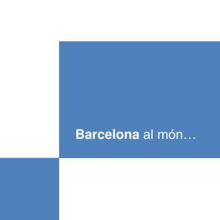 Barcelona  al món…