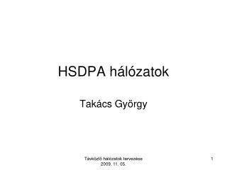 HSDPA h l zatok