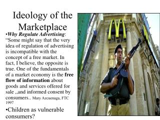 Ideology of the Marketplace