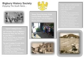 Bigbury  History Society Enjoying The South Hams…