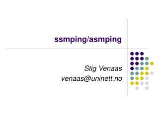 ssmping/asmping