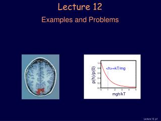 Lecture 12 Examples and Problems