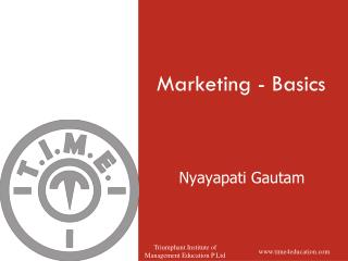 Marketing - Basics
