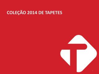 COLEÇÃO 2014 DE TAPETES