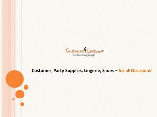 Costumes4less.com - Halloween Costumes, Adult, Kids & Teen c