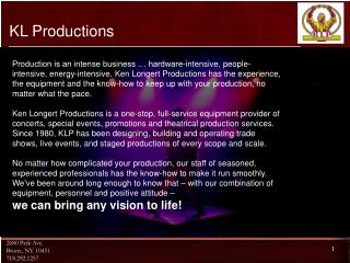 KL Productions