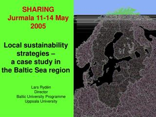 L o cal sustainability strateg ie s –  a case study in  the B al tic Sea region
