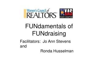 FUNdamentals of FUNdraising