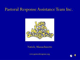 Pastoral Response Assistance Team Inc.