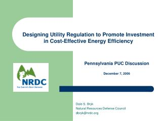 Designing Utility Regulation to Promote Investment in Cost-Effective Energy Efficiency