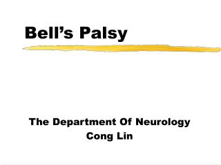 Bell�s Palsy