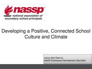Janice Bell Ollarvia NASSP Professional Development Specialist