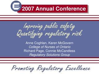 Improving public safety