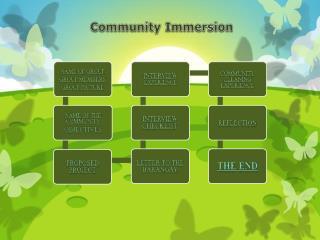 Community Immersion