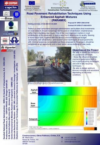 Construcciones y Obras Públicas y Civiles, S.A.              Mr. Martín Bou     +34 937 454 400