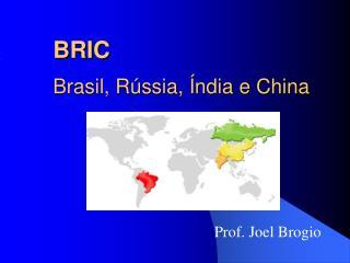 BRIC Brasil, Rússia, Índia e China