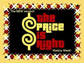 History Week!
