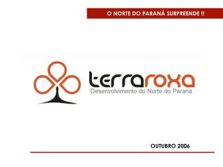 O NORTE DO PARAN� SURPREENDE !!