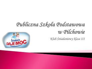 Publiczna Szkoła Podstawowa  w Pilchowie