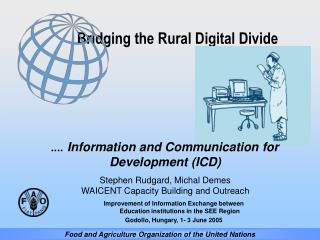 Bridging the Rural Digital Divide