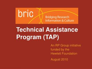 Technical Assistance Program (TAP)