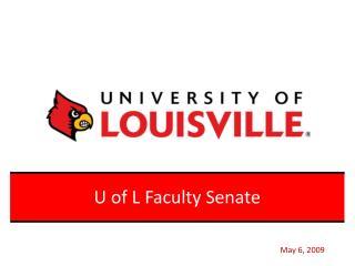 U of L Faculty Senate