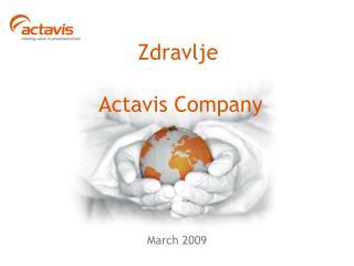 Zdravlje  Actavis Company