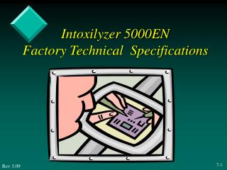 Intoxilyzer 5000EN Factory Technical  Specifications