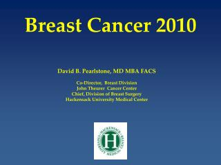 Breast Cancer 2010