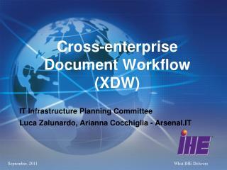 Cross-enterprise Document Workflow (XDW)