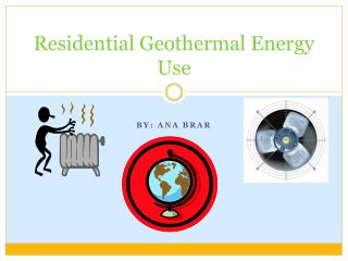 Residential Geothermal Energy Use