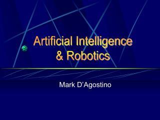 Mark D Agostino