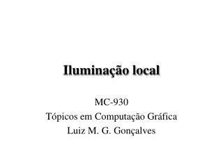 Iluminação local