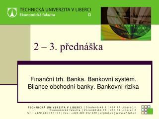2 – 3. přednáška