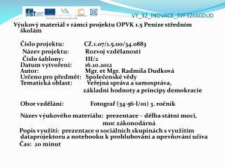VY_32_INOVACE_ SVF32660DUD