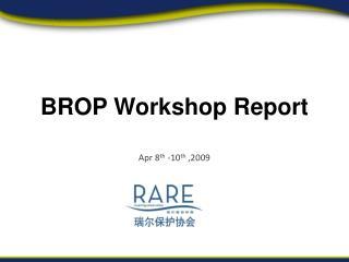 Apr 8 th  -10 th  ,2009