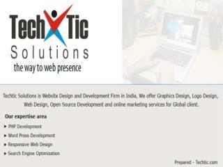Web Design & Development Company India - Techtic Solutions